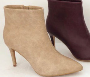 Taupe Collett Bootie