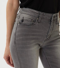 Load image into Gallery viewer, High Rise Grey Super Skinny Jeans