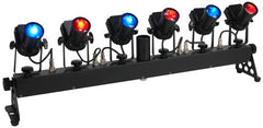 American DJ Tribar Spot  6-head LED Pinspot system
