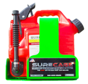 SureCage 2.2 Gallon Lockable SureCan Gas Can Rack