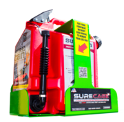 SureCage 5 Gallon Lockable SureCan Gas Can Rack