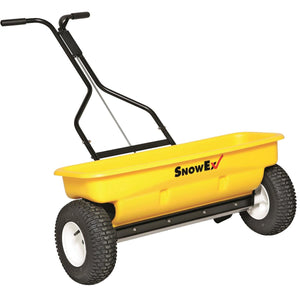 "SnowEx SD-95 Drop Spreader 160lb 28"" Walk-Behind Painted Frame"