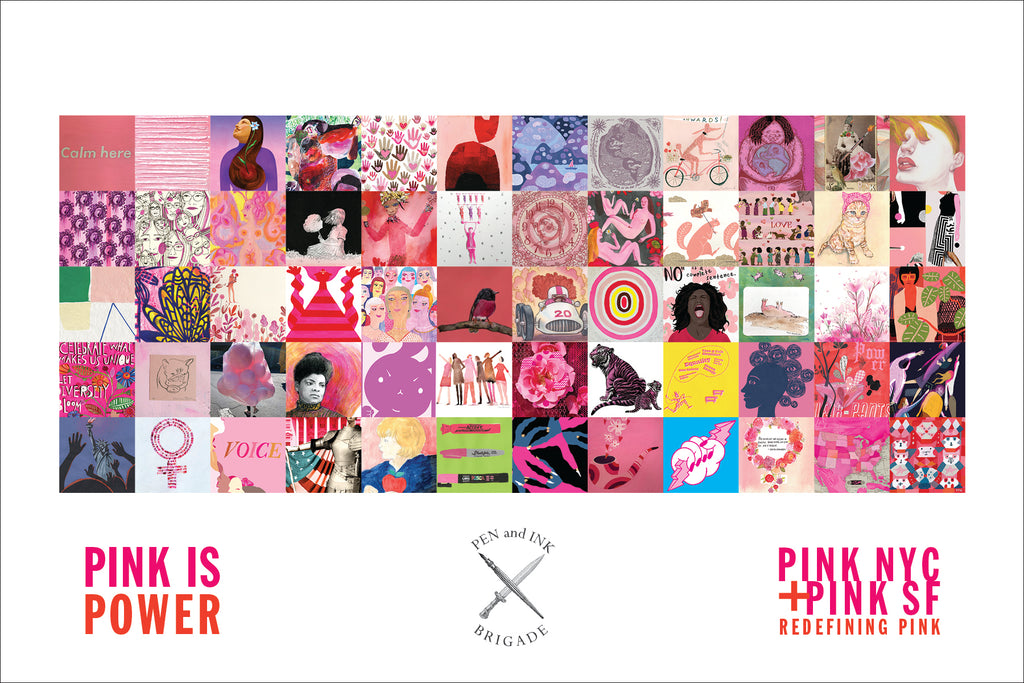 The PINK Show is up at DK
