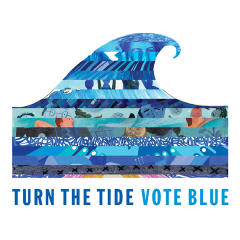 Turn the Tide Vote Blue