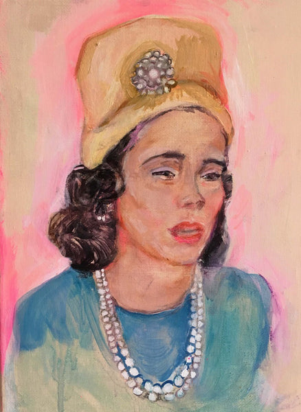 Coretta Scott King by Jenny Belin