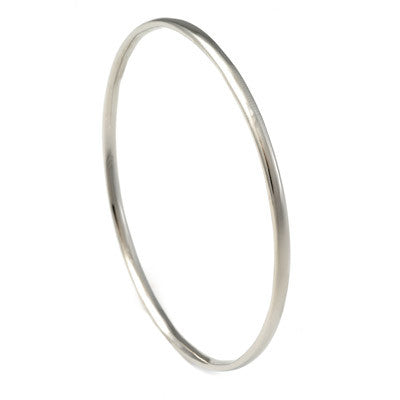 sterling silver perfect bangle