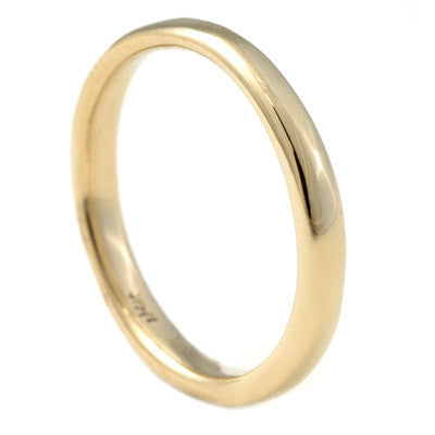 gold perfect band ring