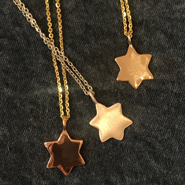 Six Point Star necklace