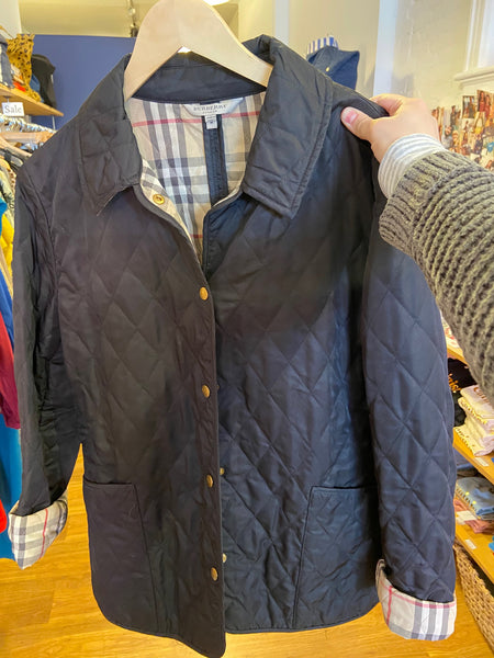 (M) Burberry jacket
