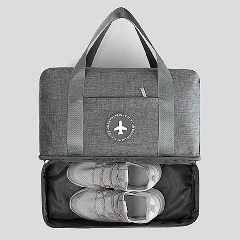 Travel Storage Bag with Shoe Compartment