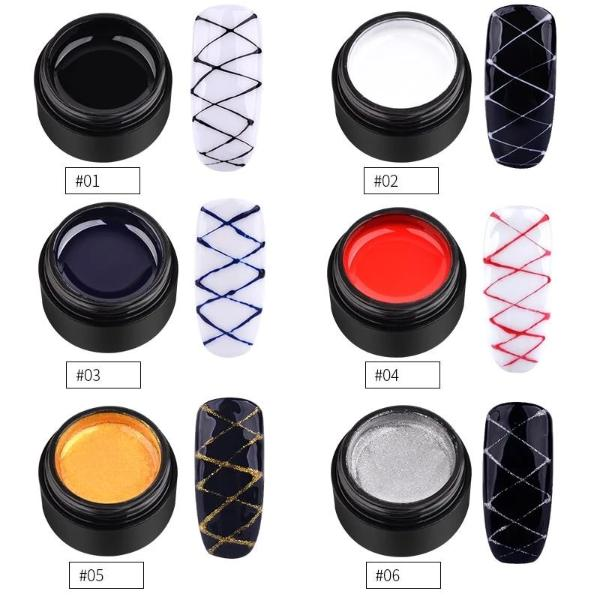 Creative Spider Nail Gel Buy 1 Take 1