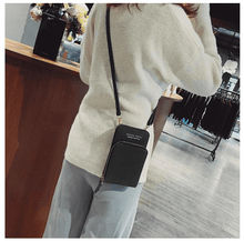 Load image into Gallery viewer, Crossbody Leather Shoulder Bag