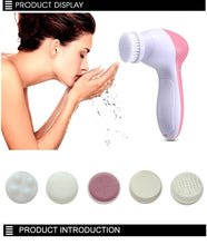 Load image into Gallery viewer, 5 in 1 Facial Cleaner Face Massager Machine