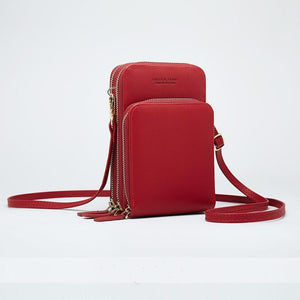 Crossbody Leather Shoulder Bag