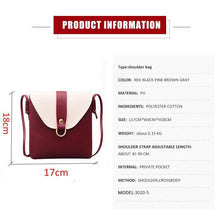 Load image into Gallery viewer, Crossbody shoulder Bag
