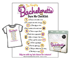Naughty Bachelorette Checklist T-Shirt
