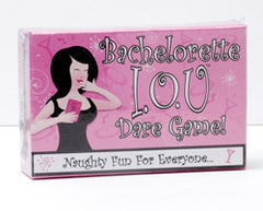 Bachelorette IOU Dare Game
