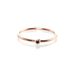 Black Diamond Knuckle Ring