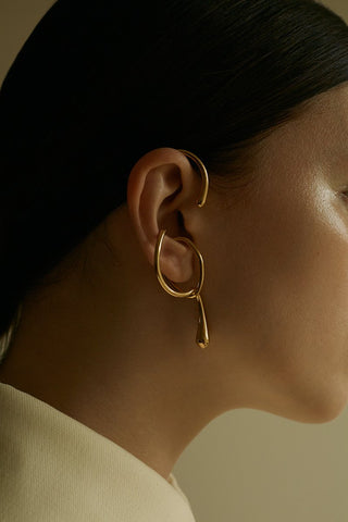 Eila's Sister Gold Earpiece
