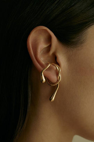 Eila Earpiece- Gold-Plated