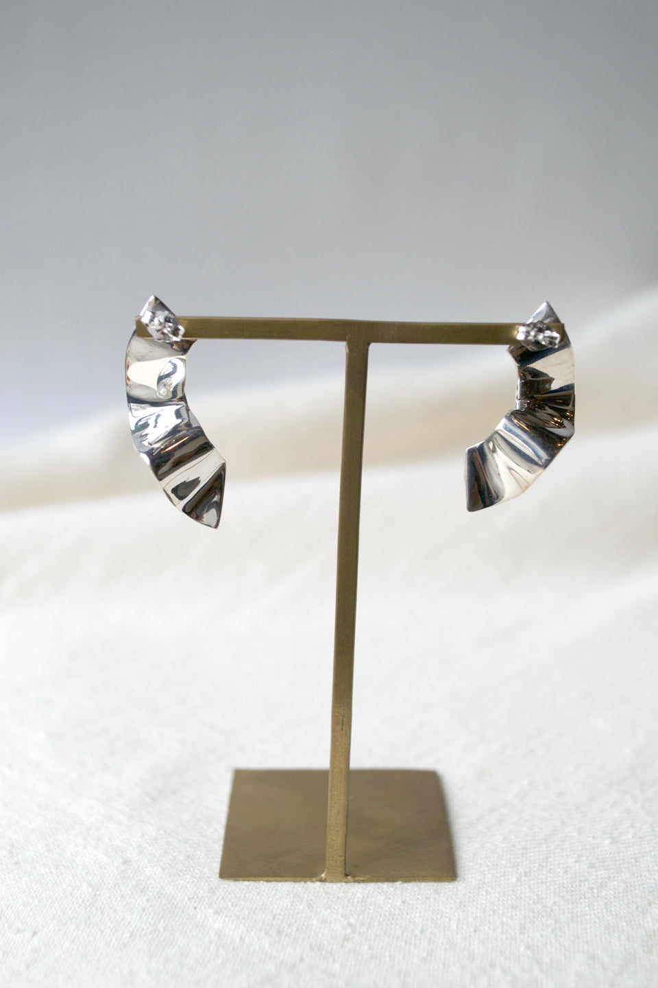 Silver Elbe Earrings