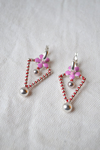 Cone Abacus Earrings