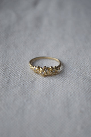 Encrusted Band Ring