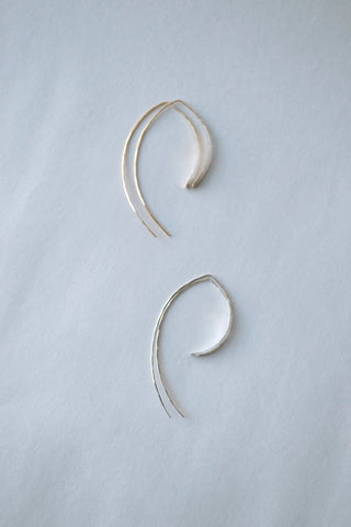 L Wishbone Earrings