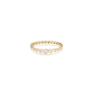 Graduated Eternity Ring