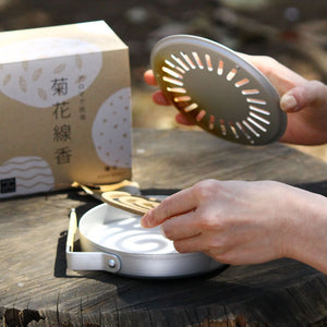 Mosquito Coil Incense Burner