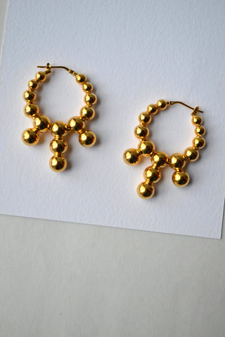 Abacus Hoop 05 Earrings