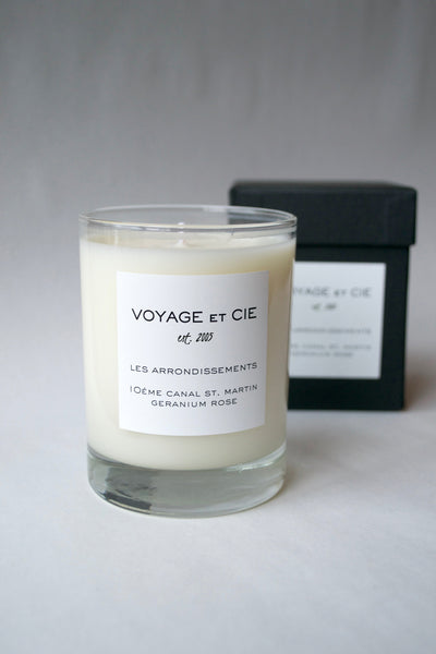Geranium Rose Candle