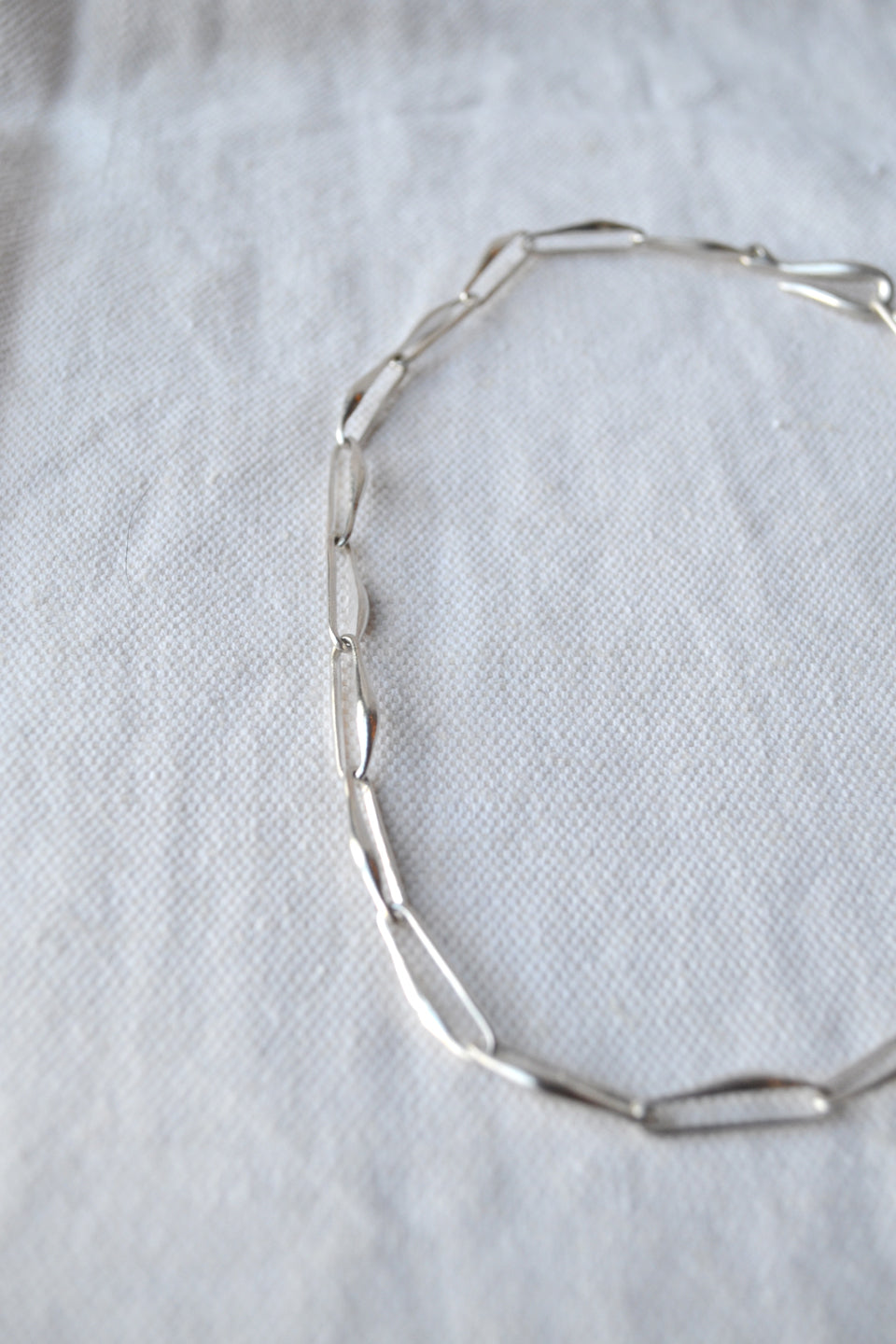 Silver Aan Necklace