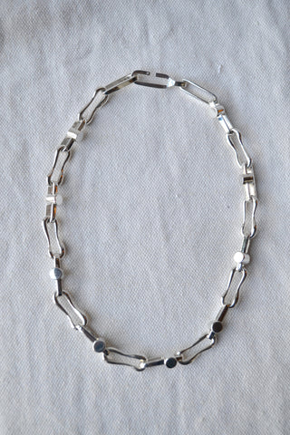 Silver Tomo Necklace