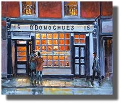 Browse Dublin Pubs Paintings Collection