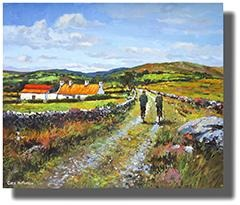 Browse Irish Landscape Paintings Collection