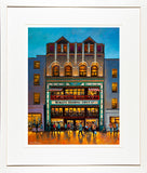 Framed print of Bewleys, Dublin cafe