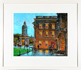 PAinting titled TRINITY COLLEGE - FRAMED print