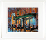 HODGES AND FIGGIS  bookshop painting- FRAMED print