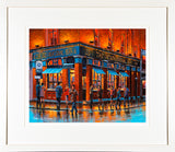 THE INTERNATIONAL  Bar, Dublin - FRAMED print