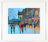 COUPLE ON O'CONNELL - FRAMED print