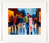 PAinting titled SATURDAY AFTERNOON - FRAMED print