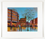 AROUND STEPHENS GREEN - FRAMED print