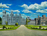 A painting of Ashford Castle, Cong, Co Mayo
