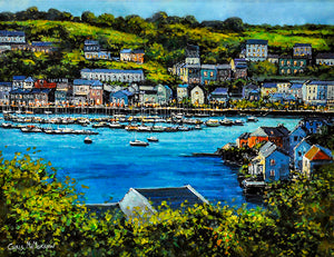 A painting of Kinsale harbour, Co Cork