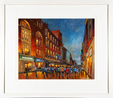 Framed print of Arnotts and Henry Street, Dublin