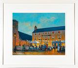 Framed print of the Queens Bar, Dalkey, Co Dublin
