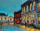 PAinting of Finnegans pub in DAlkey, Dublin