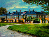 An acrylic painting of Dunbrody House, Co Wexford.