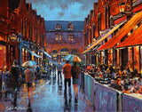 A painting of Castlemarket, Dublin
